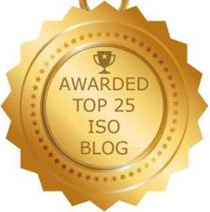 Top 25 ISO Blog Award - The ISO 9001 Group
