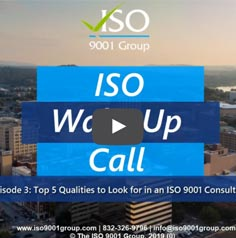 Top 5 Qualities to Look for in an ISO 9001 Consultant