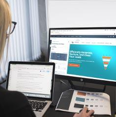 New Service Announcement Website: Design Service