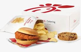 Lunch Option - Chic-Fil-A Sandwhich, Chips and Cookie